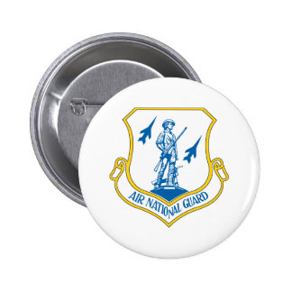 Air National Guard 6 Cm Round Badge