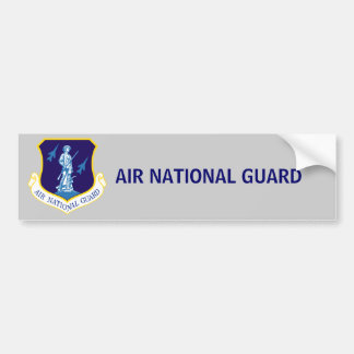 Air National Guard Bumper Sticker
