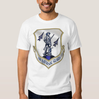 Air National Guard Emblem(Front) Tee Shirt
