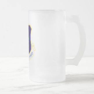 Air National Guard Frosted Glass Mug