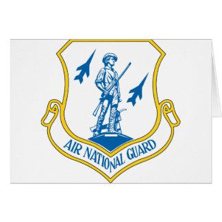 Air National Guard Greeting Card