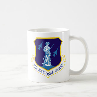 Air National Guard Insignia Basic White Mug