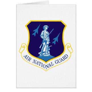 Air National Guard Insignia Greeting Card