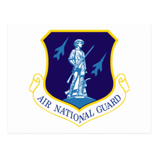 Air National Guard Insignia Postcard