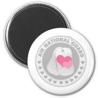 Air National Guard Love 6 Cm Round Magnet