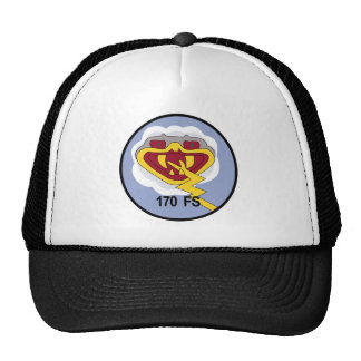 Air National Guard Patches Trucker Hats