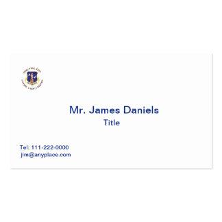 Air National Guard Shield Business Card