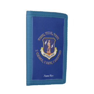 Air National Guard Shield Tri-fold Wallets