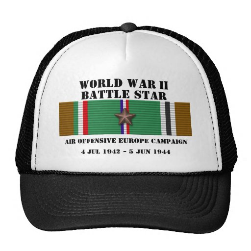 Air Offensive Europe Campaign Trucker Hats