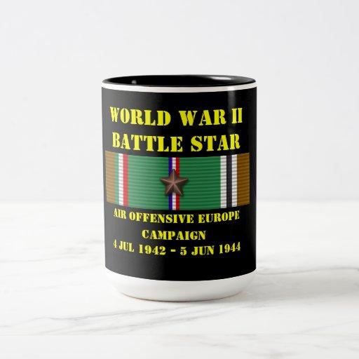 Air Offensive Europe Campaign Coffee Mugs