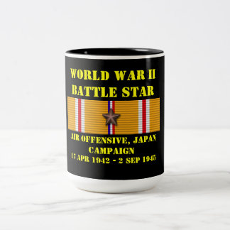 Air Offensive, Japan Campaign Two-Tone Mug