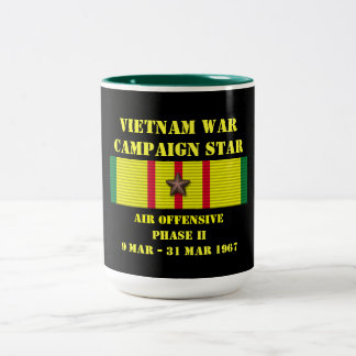 Air Offensive Phase II Campaign Two-Tone Mug