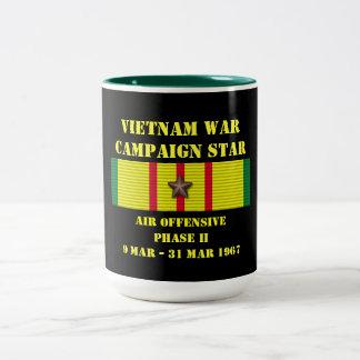 Air Offensive Phase II Campaign Two-Tone Mug