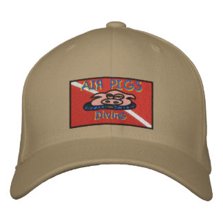 Air Pigs cap Embroidered Hat