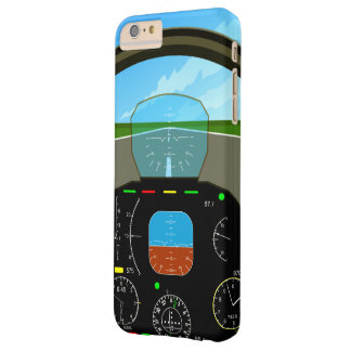 Air Plane Cockpit Barely There iPhone 6 Plus Case