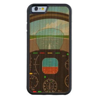 Air Plane Cockpit Carved® Cherry iPhone 6 Bumper Case