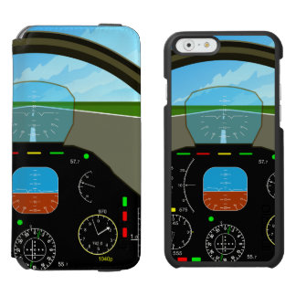 Air Plane Cockpit Incipio Watson™ iPhone 6 Wallet Case