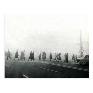 Air Pollution Event, Salt Lake City, UT Smog Vinta Postcard