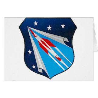 Air Research and Development Command Emblem Card