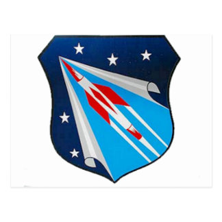 Air Research and Development Command Emblem Postcard