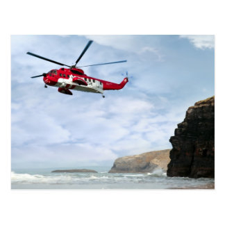 air sea rescue coast search postcard