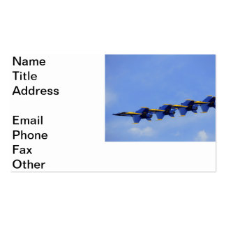 Air Show Pack Of Standard Business Cards