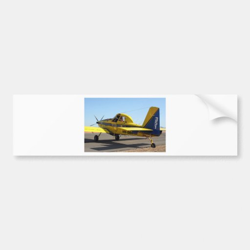Air tractor aircraft bumper stickers