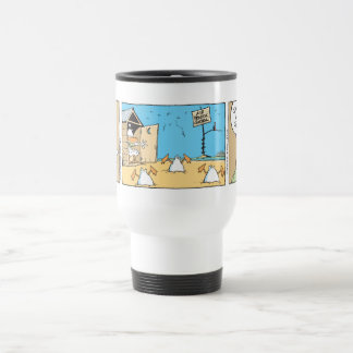 Air Traffic Control Cartoon Travel Mug