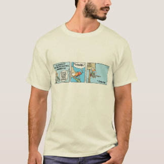 Air Traffic Control Funny Cartoon Shirt. T-Shirt