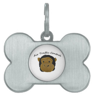 Air Traffic Control funny gifts. Pet Tag