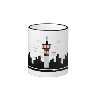 Air Traffic Control Ringer Mug