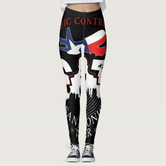 Air Traffic Control - San Antonio - Leggings