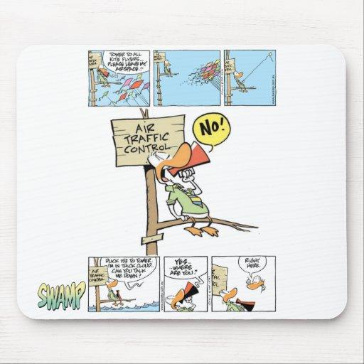 Air Traffic Controller Duck Mousemat
