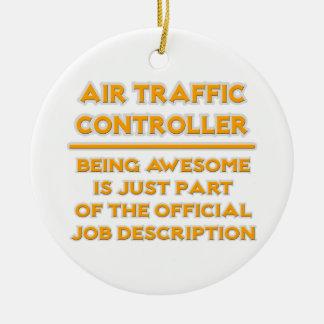 Air Traffic Controller  .. Job Description Ceramic Ornament