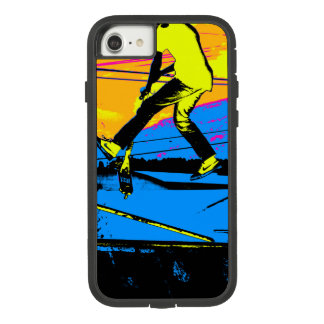 """Air Walking!""  High Flying Scooter Case-Mate Tough Extreme iPhone 8/7 Case"