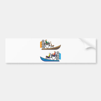 AirBoat Bumper Sticker