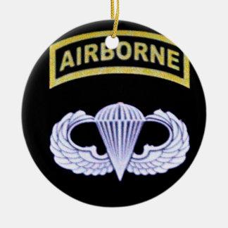 Airborne All The Way! Ceramic Ornament