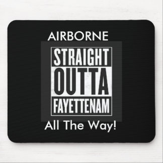 Airborne! All The Way! Mouse Pad