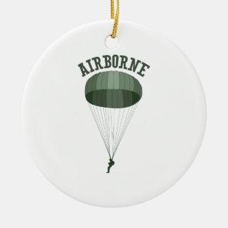 Airborne Ceramic Ornament
