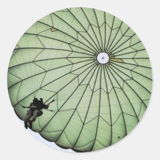 Airborne Classic Round Sticker