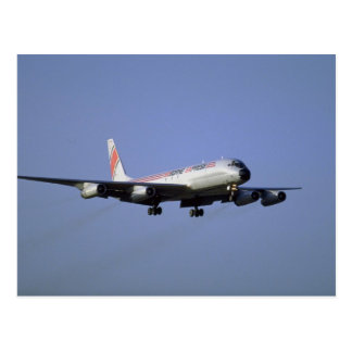 Airborne Express DC-8 Postcard