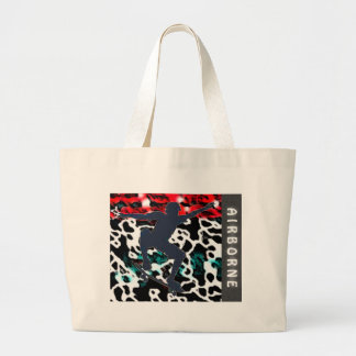 Airborne Large Tote Bag