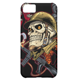 Airborne Marine Corps Parachute Skull by Al Rio Case For iPhone 5C
