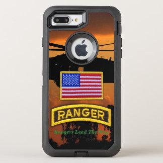 Airborne Rangers Veterans Vets LRRP OtterBox Defender iPhone 8 Plus/7 Plus Case