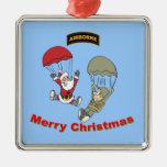 Airborne Santa II Christmas Ornament