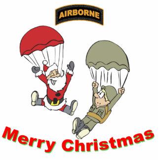 Airborne Santa II Light T-Shirt Photo Sculpture Decoration