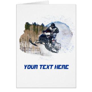 Airborne Snowmobile Card