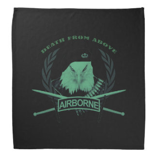Airborne troops military insignia style bandana
