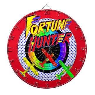 Airbourne Fortune Hunter Metal Cage Dartboard