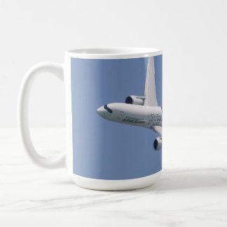 Airbus A350 In Flight Coffee Mug